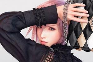 Героиня Final Fantasy 13 стала лицом модного дома Louis Vuitton